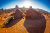 monument valley boulders